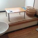 個室浴場休憩室