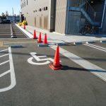 身障者用駐車スペース<br /> (ホテルの裏手にあります)