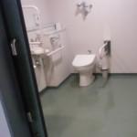かんぽの宿、多目的トイレ