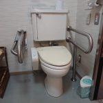 車椅子対応トイレ②