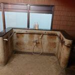シャワーチェア等で利用のしやすいシャワースペース