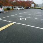 身障者用駐車スペース