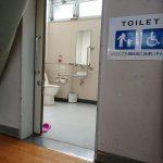 車椅子対応トイレ①