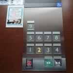 エレベーター操作盤②