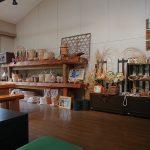 地元遠野町の竹細工などの工芸品も販売