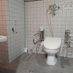 身障者対応客室内のトイレ