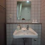 身障者対応客室内の洗面台